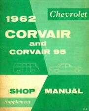 Used 1962 Chevrolet Corvair And Corvair 95 Shop Manual Supplement