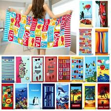 Large Microfiber Drying Bath Towel Print Beach Swim Shower Sport Towel Washcloth