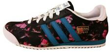 Adidas Junior Kids Dragon FLORAL Trainers Navy Blue/Pink Multi M25217 UK 3-6 NEW