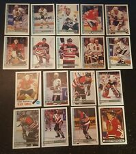 1992-93 OPC CHICAGO BLACK HAWKS Select from LIST NHL HOCKEY CARDS O-PEE-CHEE