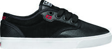 Globe Shoes Lace Up Low shoe Motley-Kids black real leather Rubberband