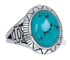 Harley-Davidson Womens .925 Sterling Silver Turquoise Ring HDR0330