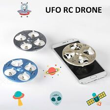 Nano Explorers RC Quadcopter Drone 2.4GHz 4CH 6-Axis Gyro LED 3D Flying MINI UFO