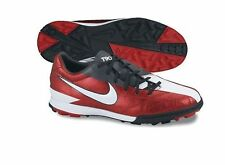 Nike Total 90 Shoot IV TF Turf 2011 Soccer Shoes Brand New Red - Black  White