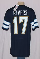 Philip Rivers San Diego Chargers Mens Hashmark Jersey T-Shirt Navy - NFL