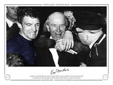 • HAND SIGNED LIMITED EDITION PHOTO MAN UNITED 1968 BILL FOULKES