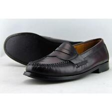 Cole Haan Pinch Penny Men US 7 Burgundy Loafer Pre Owned 5086