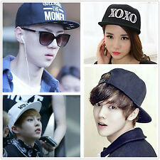 New Kpop EXO Styles Hiphop Street Adjustable Baseball Hat Ball Cap Hat Bboy Caps