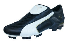 Puma V Konstrukt II GCi FG Mens Leather Soccer Cleats / Boots - Black