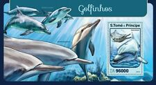 ST THOMAS AND PRINCE Dolphins 2016 ST16408b MNH stamp