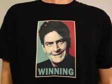 CHARLIE SHEEN WINNING ! 2 , funny T-Shirt Unisex Men Ladies