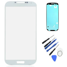 Replacement Screen Lens Adhesive Frame Samsung Galaxy S4 IV i9500 i9505+tools