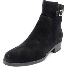 La Canadienne Shelby Women  Round Toe Suede Black Ankle Boot