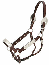Berry Edge Silver Congress Show Halter  Horse Halter Yearling or Horse Size NEW