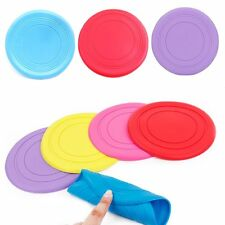 Dog Frisbee Flying Disc Toy Tooth Resistant Training Fetch Toy Play Durable
