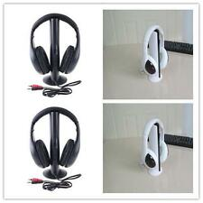 5in1 Wireless Headphone Earphone Cordless Headset for MP3 PC Stereo TV FM iPod ,