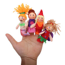 Story Telling Sack Bag Finger Puppets Nursery Rhyme Fairy Tale Aussie Animals