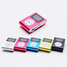 USB Mini Clip MP3 Player LCD Screen Support 32GB Micro SD TF Card Nice Durable