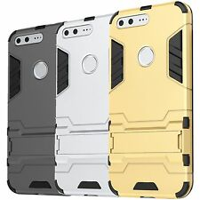 For Google Pixel Layer Hard Case Kickstand Protective Hybrid Stand Phone Cover