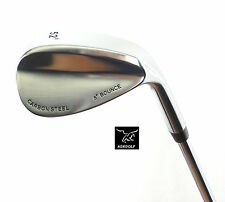 AGXGOLF MENS RIGHT HAND TOUR CARBON 52 DEGREE GAP WEDGE: CADET, REGULAR or TALL