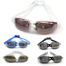 Professional Swim Glasses Swimming Goggles Waterproof Anti fog UV Protect Clear