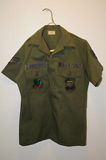 Vietnam Era War U.S Air Force Field Military Tactical Air Command Utility Shirt