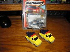 RARE LOT of 3 Vintage Matchbox King Tow Rig Tow Trucks Big Wreckers