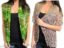 "Tie-Dye Ombre/Polka Dot Multi Color Print Scarf 62"" X 20"" '15 Color Variations'"