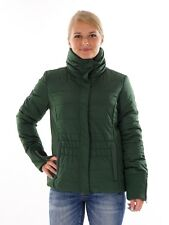 CMP Quilted Jacket Casual jacket green collar Zipper Poppers