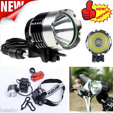 5000LM CREE XML T6 LED Bicycle Bike Light Head Light Headlamp Rechargeable Lot