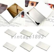 Convenient Pocket Metal Business ID Credit Card Case Box Holder Stainless Steel