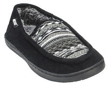 Muk Luks Henry Men's Corduroy Slippers House Shoes Faux Fur Lined