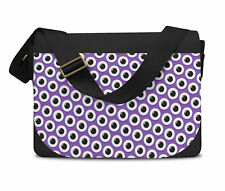 Monster Eyes Messenger Bag - Laptop School Shoulder Bag