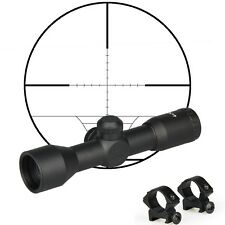 Tactical 4X32 Optics Scope Sight Duplex Reticle Air Rifle Riflescope Rifle Scope