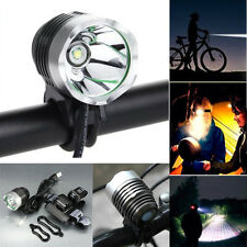 3000 Lumen 3 Mode Cree XML T6 USB LED Headlamp Bike Bicycle Light Headlight Lot