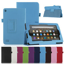 Magnetic Folio PU Leather Stand Cover Case for Amazon Kindle Fire 7 2015 Tablet