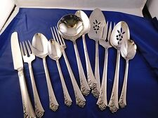 Oneida Damask Rose Stainless Flatware Open Stock Choose your items USA