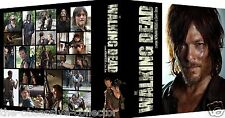 WALKING DEAD V6 DARYL DIXON Custom Photo Album 3-Ring Binder NORMAN REEDUS