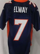Denver Broncos John Elway Throwback Premier Football Jersey Blue