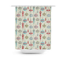 Christmas Baubles Shower Curtain - Vinyl Anti-Bacterial