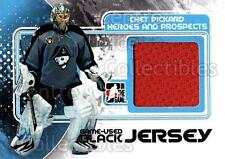 2010-11 ITG Heroes and Prospects Jersey Black #7 Chet Pickard