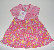 NWT Baby Lulu girls boutique floral striped dress 100% cotton 2T or 3T or 4T