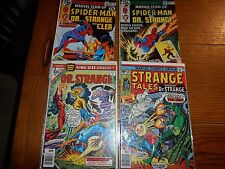 DR. STRANGE COMICS ASSORTED LOT OF 4 BY MARVEL COMICS INCLUDES #1 ISSUE!!!