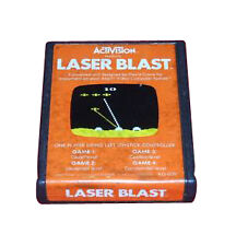 Laser Blast-Classic Game for Atari 2600