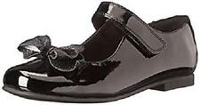 Girl's Toddler RACHEL SHOES LIL CRYSTAL 2 Black Bow Mary Jane Dress Shoes New