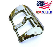 24mm Heavy Stainless Steel Submarine Buckle Pre V Buckle fits Panerai Watch Band