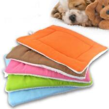 Soft Warm Cozy Pet Dog Puppy Cat Nest Bed Sleep Mat Pad Blanket Crate S/M/L PICK