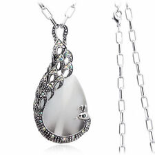 Charm 18K White Gold GP Austrian Crystal Women Necklace Pendant  K286