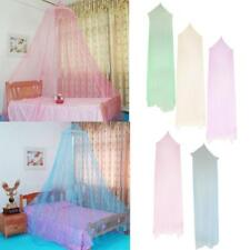 Lace Bed Mosquito Netting Mesh Canopy Princess Round Dome Bedding Net 5 Colors