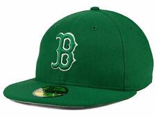BOSTON RED SOX ST PATS DAY ON FIELD AUTHENTIC NEW ERA 59FIFTY FITTED HAT/CAP NWT